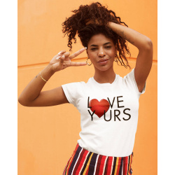Love Yours White Tee