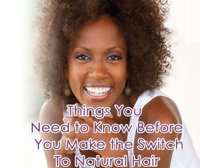 Before You Switch To Natural Hair